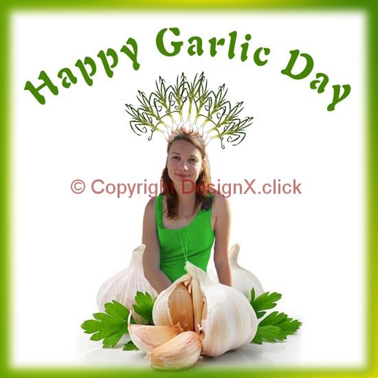 HaPPy-Garlic-Day