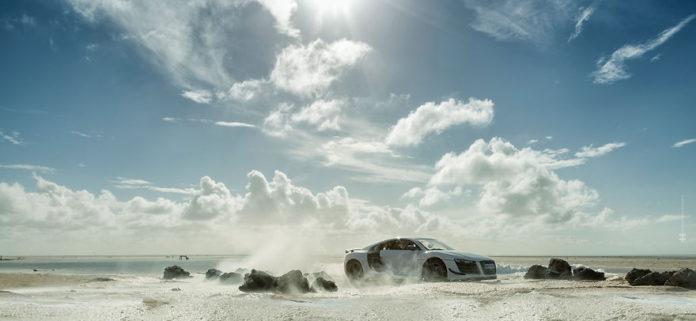 Takto sa to robí vo veľkých firmách: Audi požiadalo fotografa, aby drahý model ich auta nafotil pomocou miniatúry